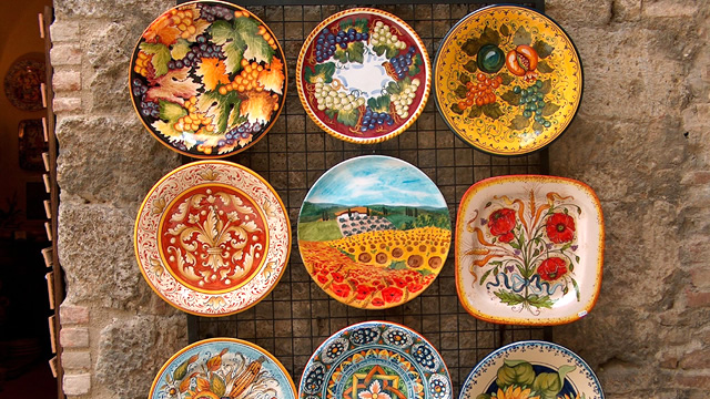 南イタリア・ヴィエトリスルマーレの陶器 | 京都 ダ …